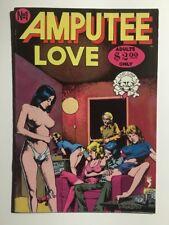 Amputee Love No. 1, Last Gasp 1975 Brent Boates, Rene Jenson