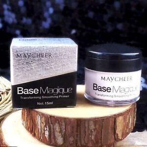 Pores Invisible Makeup Base Face Primer Smooth Wrinkle Cover Concealer Skin Care