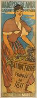 Original Vintage Poster - Réalier-Dumas - Madère Blandy - Alcohol - Wine - 1897
