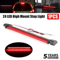 Universal Red Car 24LED 12V High Mount Third 3RD Brake Stop Tail Light Lamp 1PC
