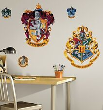 Hogwarts Crest Wall Mural Stickers Harry Potter Room Decor Decals Gryffindor New