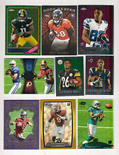 (18) NFL FOOTBALL INSERT-PARALLEL-SERIAL NUMBER ROOKIE CARD LOT