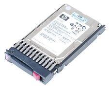 "HP 146 gb 15k sas dual Port 2.5"" hot swap disco duro 504334-001"