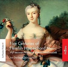 Five Centuries of Flemish Harpsichord Music, New Music