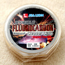 NEW Sea Lion 100% Made in Japan Fluorocarbon Leader Fishing Line 25LB 30M