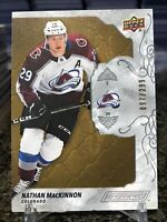 2019-20 Upper Deck Engrained #6 Nathan MacKinnon True Base SP /299 Avalanche!!!