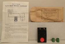 Lionel Postwar No. 90-26 Envelope & Contents - No. 92 Circuit Breaker Controller