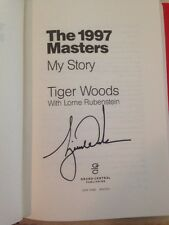 Tiger Woods Signed THE 1997 MASTERS: MY STORY Autographed NY 3/20/2017 Golf Book