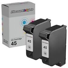 2 51645A 45 Black Printer REMAN Ink Cartridge for HP Deskjet 895cse