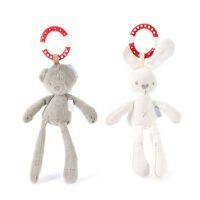Baby Infant Rattles Plush Animal Stroller Hanging Bell Play Toys Doll Soft Bed