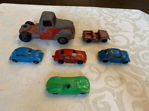 Tootsietoy Collector Series Auto Transport Truck, and Cars