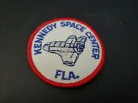 Vintage Kennedy NASA Space Center Florida Space Shuttle Cloth Embroidered Patch