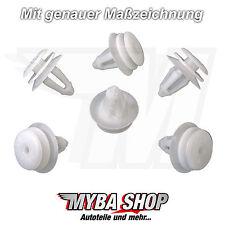 10x Innenverkleidung Befestigungs Clip für BMW E82 E46 E90 E91 E92 | 51418224768