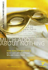 "New, ""Much Ado About Nothing"": York Notes for KS3 Shakespeare (York Notes Key St"