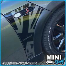 BMW Mini Wing Panel Union Jack Sticker/Vinyl - R50 to R53 (Gen 1 Mini)