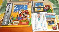 Super Mario Advance 4 Complete Wal-Mart e-Reader Nintendo Game Boy GBA Bros 3