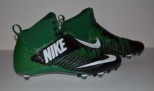 Nike Force Lunarbeast Pro 3/4 D Football Cleat - Men's Size 14 - Green Black