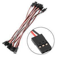 10pcs 15cm Lead Servo Extension Male to Male Wire Cable For RC Futaba Quadcopter