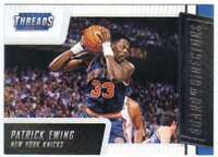 2016-17 Panini Threads Board of Directors Insert #15 Patrick Ewing Knicks