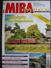 Landschafts und Geländebau MIBA-Spezial 34