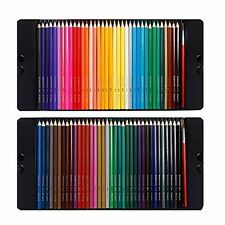 Magicfly 72 Colored Pencils Set Premier Soft Core Watercolor Pencils with 2