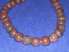 Wholesale 8MM Natural Sesame Jasper Gemstone Round Spacer Loose Beads About 47pc