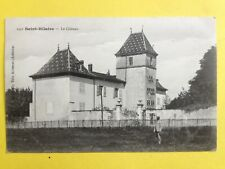 cpa SAINT HILAIRE (Isère) Le CHÂTEAU Animé Castle Burg
