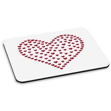 Corazón De Corazones Alfombra Ratón Ordenador PC - Amor San Valentín Día