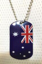 Australian Day Aussie Flag Design Party Dog Tag - Accessory  .41-690