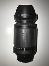 Nikon DX  AF-S NIKKOR  55-200mm  1:4-5.6G ED VR Lens & Caps EUC