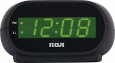 RCD20 RCA Digital Alarm Clock with Night Light NEW