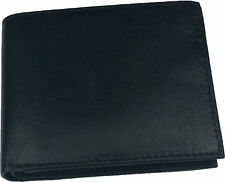 Genuine Mens Leather Slim Wallet Credit Card Holder Bifold X10pcs