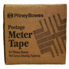 3 Rolls New In Box Pitney Bowes Postage Meter Tape Dm Series 627-8