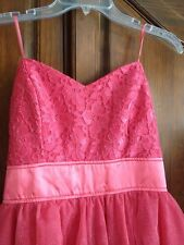 Formal Dress Pink Size 11 NWT