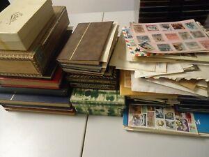 DEUTSCHLAND EUROPA WELT - Sammlung mit hunderten Briefmarken, viel Russland !!