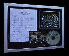 STONE SOUR Through Glass LTD MUSIC QUALITY CD FRAMED DISPLAY+EXPRESS GLOBAL SHIP