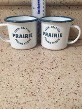 Two Prairie Organic Vodka Cups Mugs - New