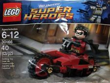 New Genuine Lego x1 30166 DC Universe Robin and Redbird Cycle Polybag