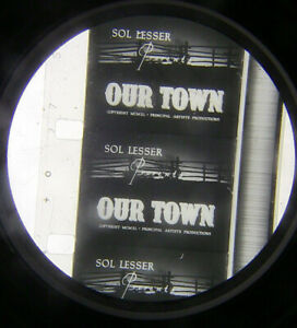 16mm Film Our Town (1940) William Holden Academy Award Nominated (Public Domain)