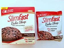 60 ct SLIM FAST BAKED MEAL REPLACEMENT LOSE WEIGHT DOUBLE CHOCOLATE CHIP COOKIE