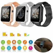 Stainless Steel Bluetooth Smart Watch GSM Phone Anti-lost for Android Cell Phone