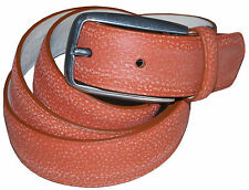 PAUL SMITH HAND BURNISHED SPANISH LEATHER BELT SZ-34 BRAND NEW TAGS RARE