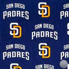 MLB San Diego Padres Cotton Fabric 6678 B