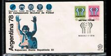 [ZH022] 1978 - Indonesia FDC E48 - Sport - Football (Soccer) - Worldchampionship