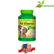 PET MULTIVITAMIN MINERALS DOG CAT ANIMALS VITAMIN SUPPLEMENT 120 CHEWABLE TABLET