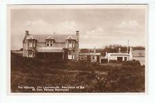 The Hillocks Old Lossiemouth Moray Real Photograph Ramsay Macdonald Residence