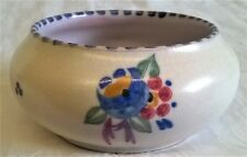 POOLE POTTERY RED BODY TRADITIONAL OX PATTERN SHAPE 527 10cm BOWL MARJORIE CRYER