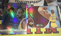 Topps Luxury Box And Prizm Kareem Abdul Jabbar Holo Lot of 2 Lakers HOF