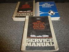 1996 Ford Ranger Shop Service Repair Manual Set XL XLT STX Splash 2.3L 3.0L 4.0L
