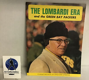 Vintage The Lombardi Era Green Bay Packers 1968 Magazine Good Condition Vince Lo